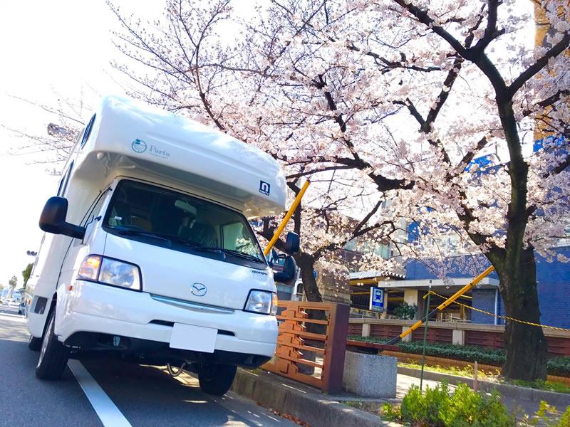 キャンピングカーレンタル 名古屋のキャンピングカー「アミティ」
