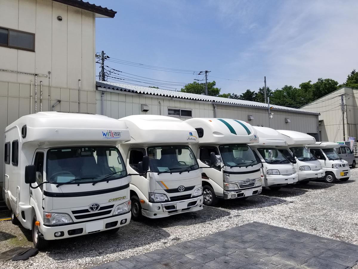 キャンピングカーレンタル東京 ジェイオートサービスのキャンピングカー
