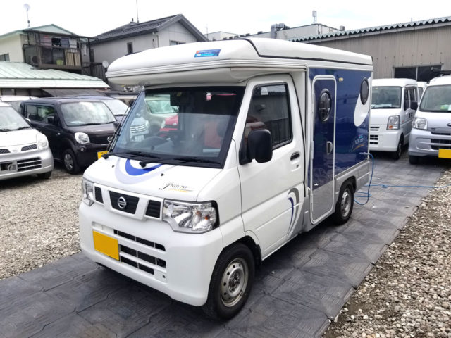 ヨセミテの軽キャンピングカー「インディ727」
