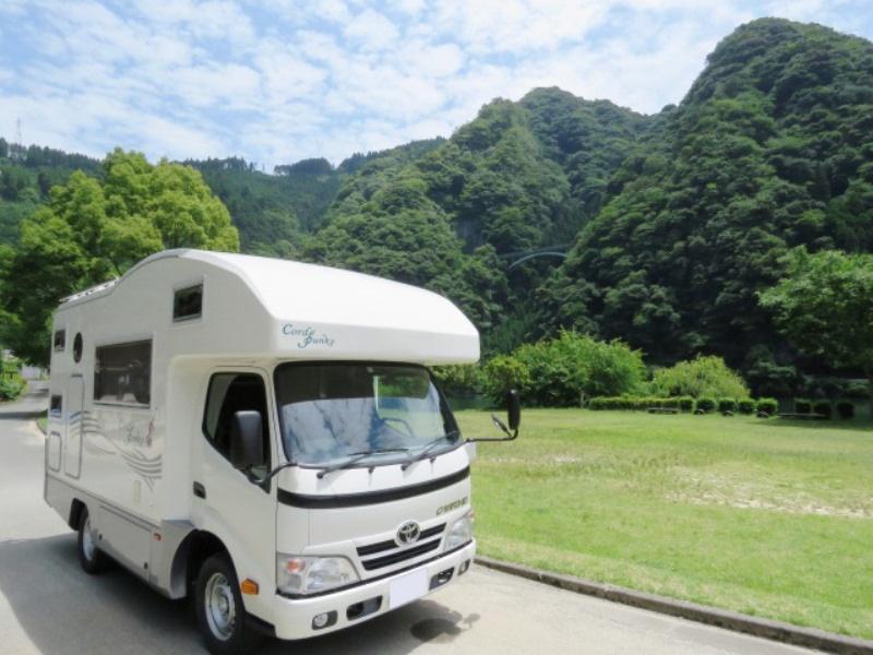 キャンピングカーレンタル九州 レンタカースタイル 久留米本店のキャンピングカー
