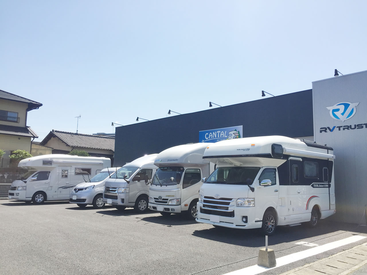 CANTAL(キャンタル) 福岡那珂川店のキャンピングカー集合