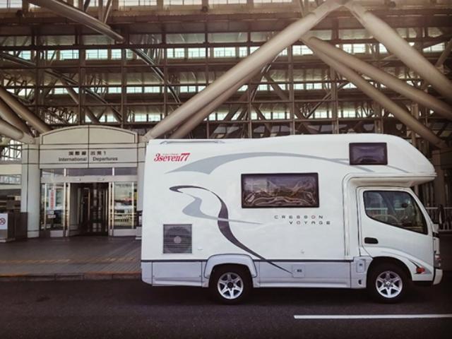 九州レンタルキャンピングカーのキャンピングカー