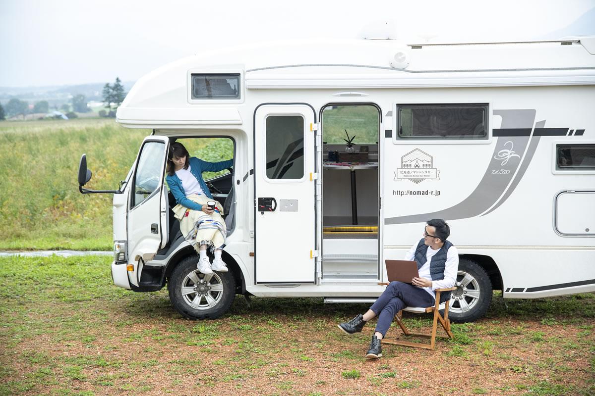 北海道ノマドレンタカー 千歳店のキャンピングカー