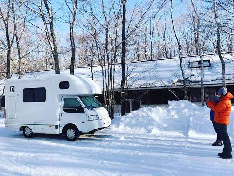 CAMP IN CAR 新千歳フォレスト基地のキャンピングカー