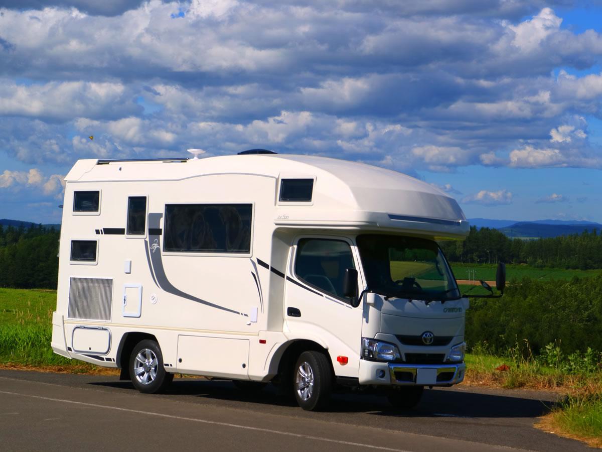 KEGANI CAMP(ケガニキャンプ)のキャンピングカー「ジル520」