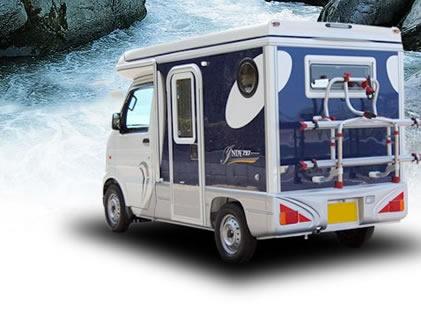平成レンタカー 高松空港店のキャンピングカー「インディ727」