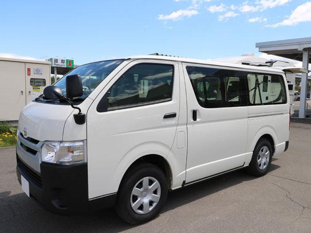 北海道ノマドレンタカー 千歳店の車中泊車「ハイエース」