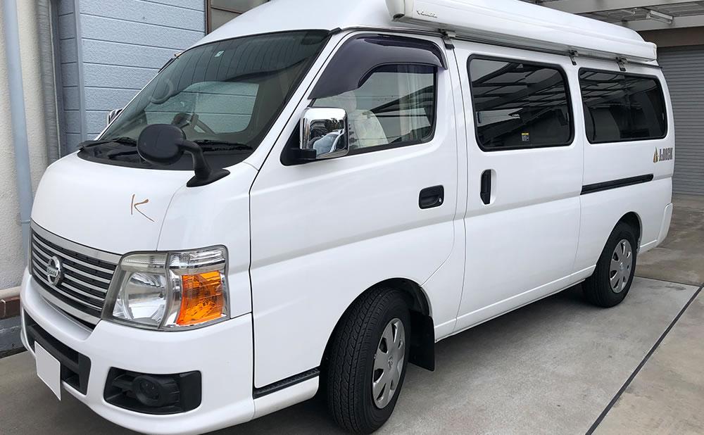 Van Life Rent a car(バンライフレンタカー) 大阪店のキャンピングカー「キャラバン」