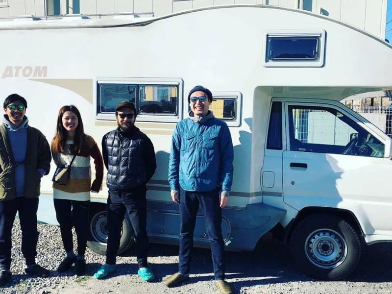 CAMP IN CAR 戸田ガレージ基地のキャンピングカー