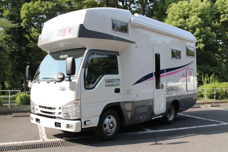 キャンピングカーゲートのキャンピングカー「SAKURA(サクラ)」外装