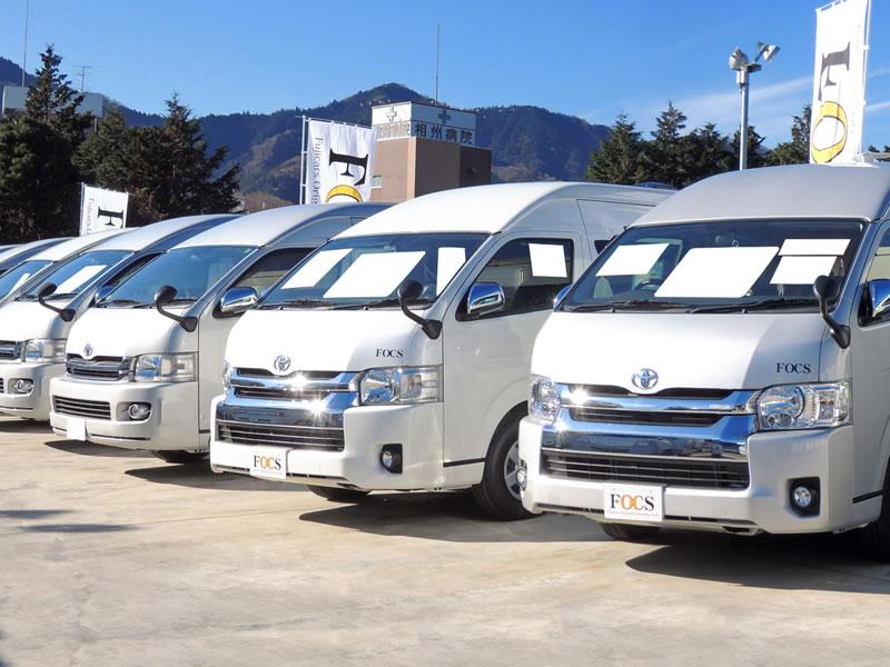 フジカーズジャパン 江戸川キャンピングカーステーション店のキャンピングカー集合