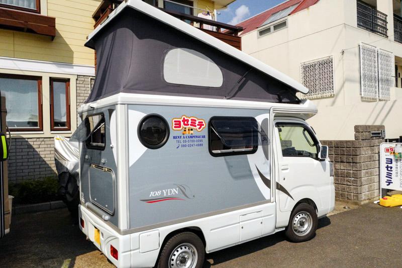 ヨセミテのキャンピングカー「インディ108」