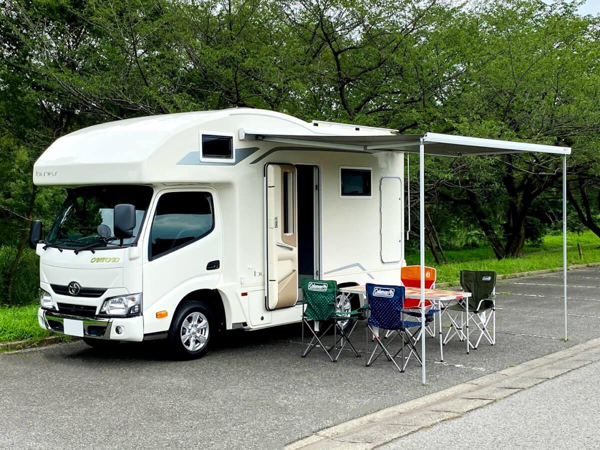 太陽整備(TAIYO SEIBI)のキャンピングカー「コルドバンクス」