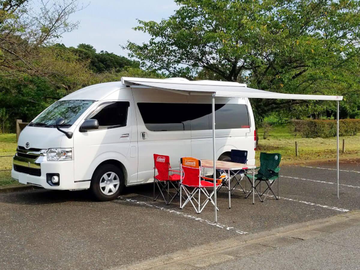 太陽整備(TAIYO SEIBI)のキャンピングカー「ランドティピ―」