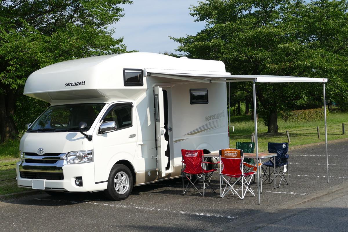 太陽整備(TAIYO SEIBI)のキャンピングカー「セレンゲティ」