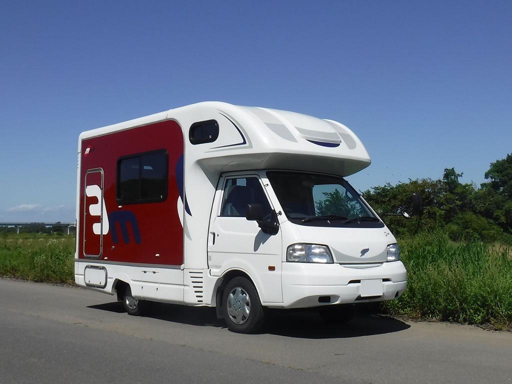 CAMP IN CAR 池袋ステーション基地のキャンピングカー「マッシュ」