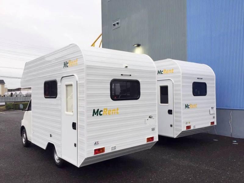 マクレント 甲府ステーションのキャンピングカー