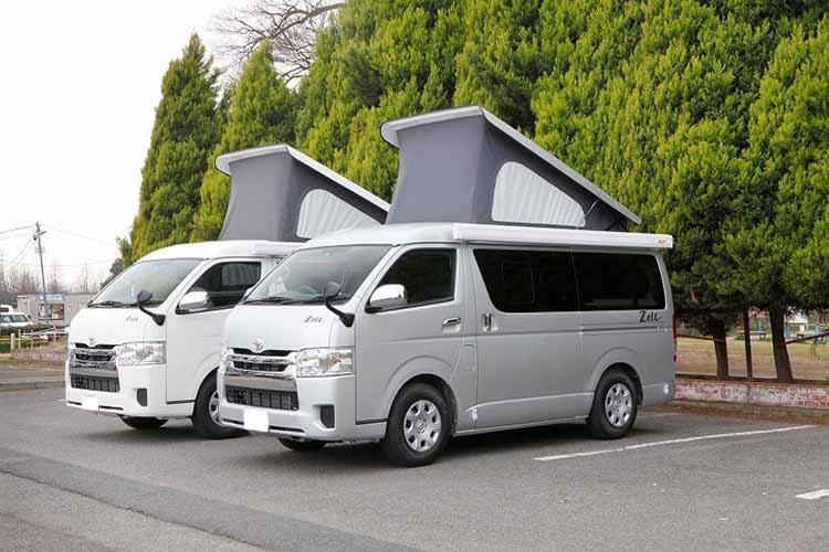 成田空港キャンピングカーレンタルセンター(成田CRC)のキャンピングカー