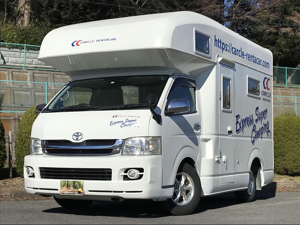 カークル 16号野田店のキャンピングカー「セレンゲティ」