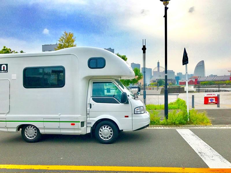 レンタルキャンピングカージャパン 横浜のキャンピングカー