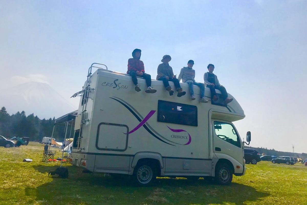ジャパンロードトリップ 新千歳空港店のキャンピングカー「クレソン」