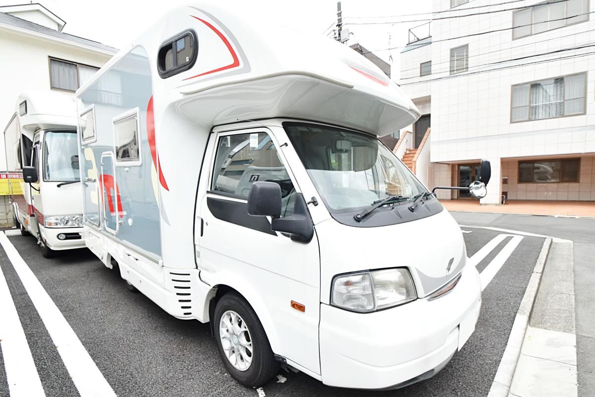 ジャパンロードトリップ 新千歳空港店のキャンピングカー「マッシュ」