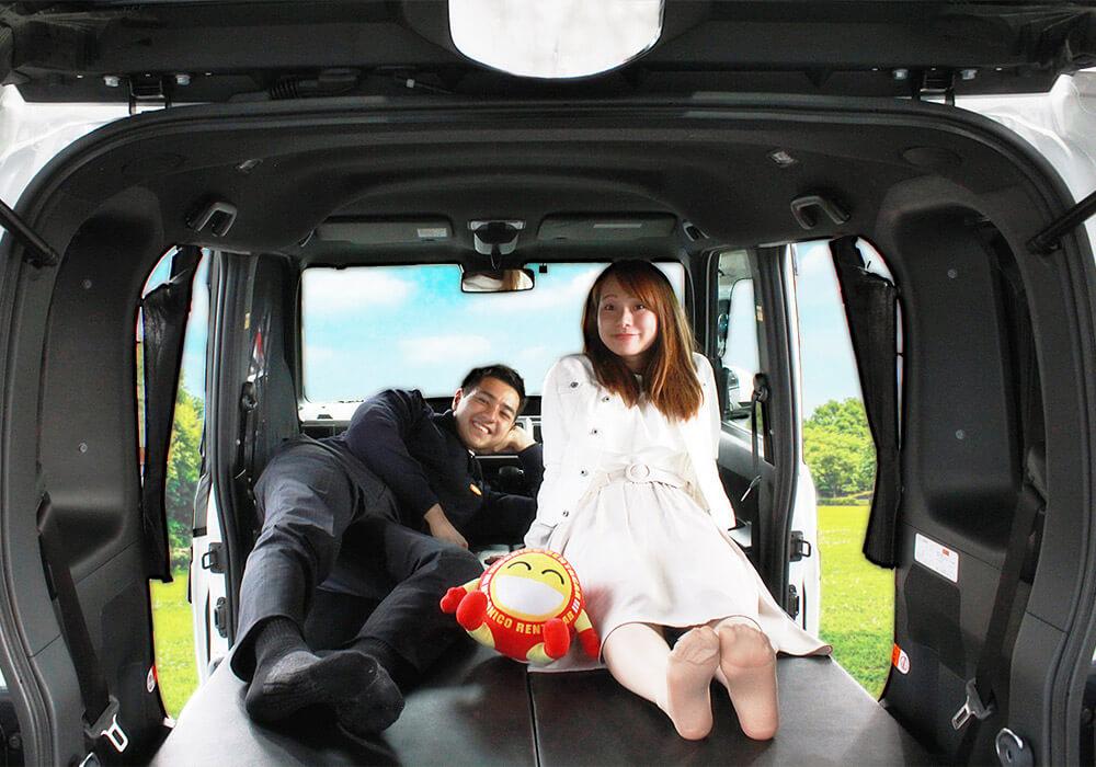 ニコニコレンタカー 所沢店のキャンピングカー「WAKE」