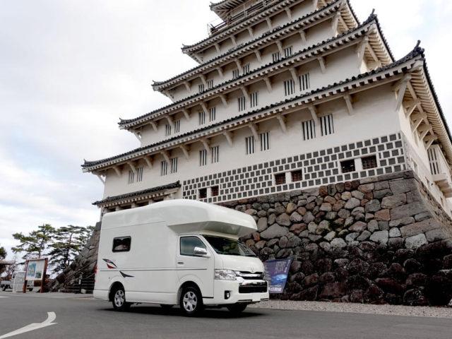 飛行機とレンタルキャンピングカーで九州の旅 RVトラスト C-LH