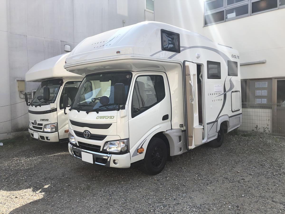 Van Life Rent a car(バンライフレンタカー) 釧路店のキャンピングカー「クレソンボヤージュ」