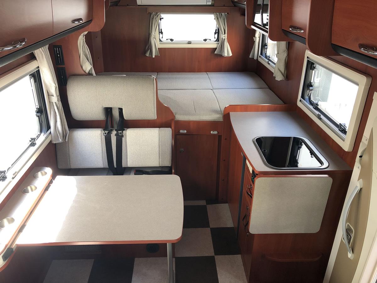 Van Life Rent a car(バンライフレンタカー) 十勝帯広店のキャンピングカー「クレソンボヤージュ」