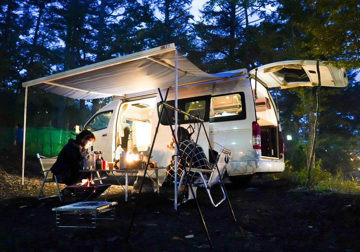 EAST WOOD CAMP(イーストウッドキャンプ)のキャンピングカー