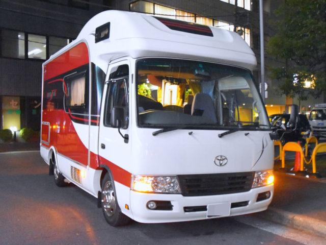 ジャパンロードトリップ 新宿駅前店のバスコン「ボーダバンクス」