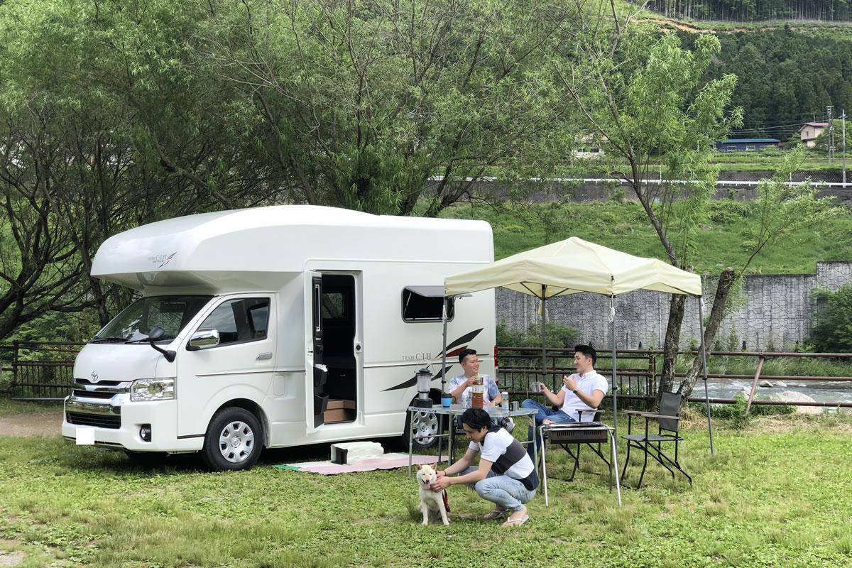 CANTAL(キャンタル) 淡路・SHIMAキャンピングカー店のキャンピングカー「C-LH」