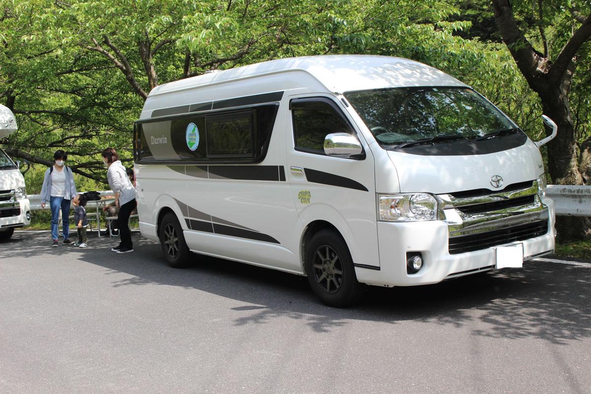 CANTAL(キャンタル) 淡路・SHIMAキャンピングカー店のキャンピングカー「ダーウィン」
