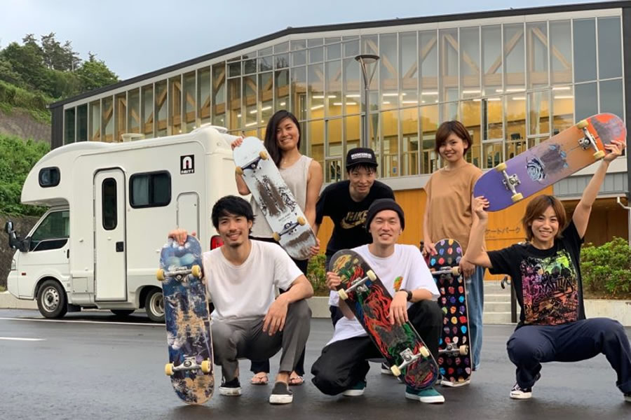 ジャパンロードトリップ 札幌店のキャンピングカー「アミティ」