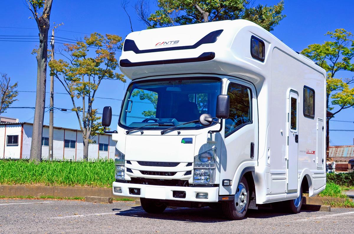日本特種ボディー 東京スカイツリータウン・ソラマチ営業所のキャンピングカー「クレステッドアイビス」